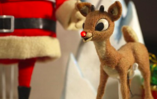 Rudolph the Red-Nosed Reindeer.